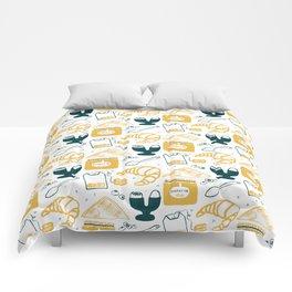 breakfast time Comforters