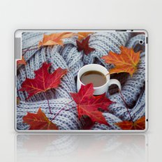 autumn coffee Laptop & iPad Skin