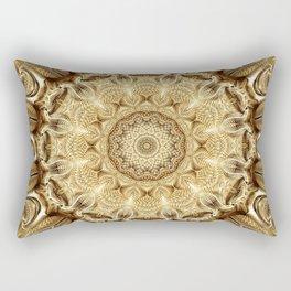 Flower Of Life Mandala (Nothingness) Rectangular Pillow