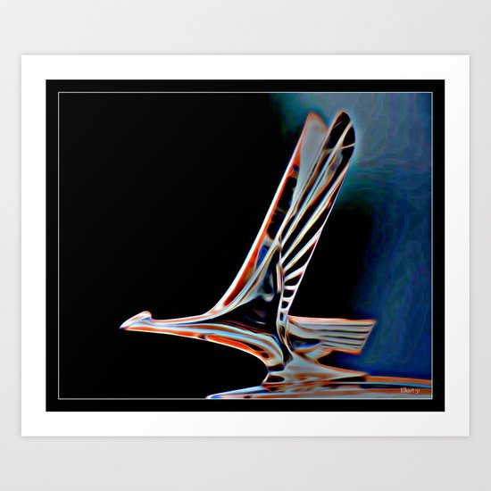 Slipstream Art Print