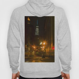 Freedom Tower view from Chinatown. New York City. Hoody
