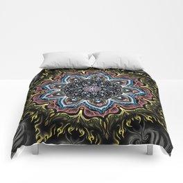 Burning Butterfly Mandala Comforters