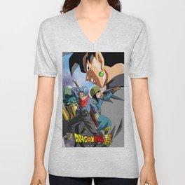 Dragon Ball Super   (6).jpg Unisex V-Neck