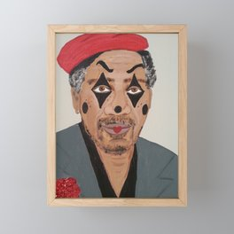 Painted Freeman Framed Mini Art Print