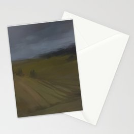 After rain melancholy Stationery Cards