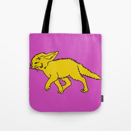 The Sly Fennec Fox Tote Bag