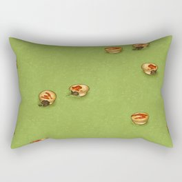 Adelaide Pie Floater, extra mushy peas please Rectangular Pillow