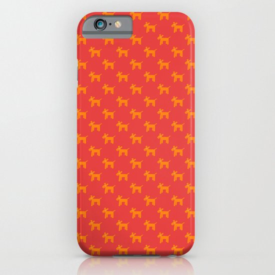 Dogs-Red iPhone & iPod Case