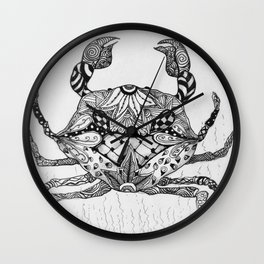 Zen Crab Wall Clock