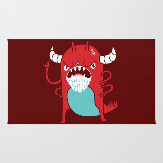 Monster Nagging Rug