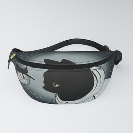 The Black Cat Tale Fanny Pack