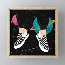 Fly to Your Dream Framed Mini Art Print