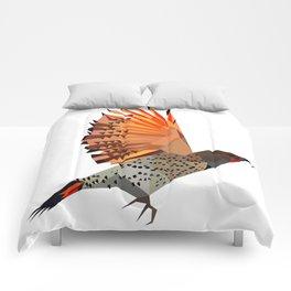 Flying bird Flicker Geometric Nature Comforters