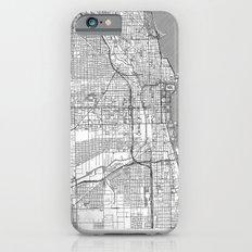 Chicago Map Line iPhone 6s Slim Case
