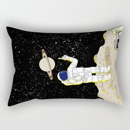 Posing Astronaut  Rectangular Pillow