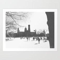 Smithsonian Castle Art Print