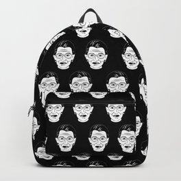 Ruth Bader Ginsburg Face Feminist Gifts Notorious RBG Backpack