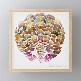 Pangolin Framed Mini Art Print
