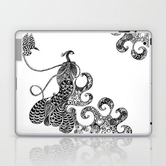 Peacock Love Laptop & iPad Skin