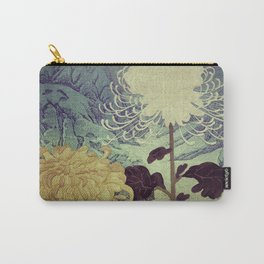Midnight Climbing towards Kankoi Carry-All Pouch