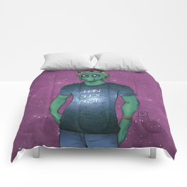 Hipster Greedo Comforters