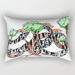 Tree Serpents Rectangular Pillow