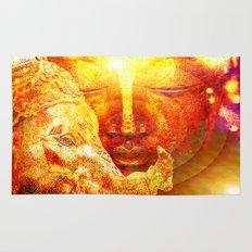 Buddha and Ganesh  Rug