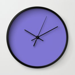 Moody Blue Wall Clock