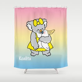 Koalita and friend Shower Curtain