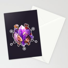 A World Split Apart Stationery Cards