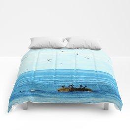 Birds of Summer Comforters