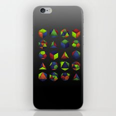 Sacred Shapes & Colors iPhone & iPod Skin