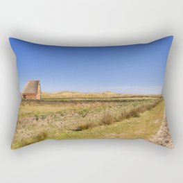 Traditional sheep barn on the island of Texel, The Netherlands Rectangular Pillow