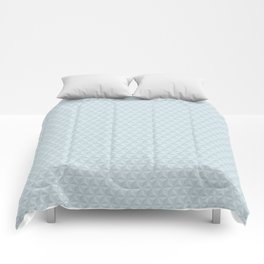Spaceship Earth Triangles Comforters