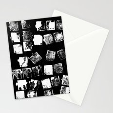 Stamp Black and White Stationery Cards
