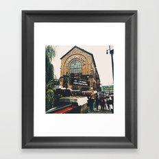Camden Lock Framed Art Print