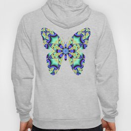 A touch of Spring, fantasy flower pattern design Hoody