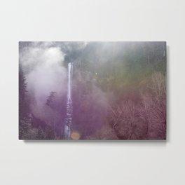Rainbow Mist at Multnomah  Metal Print