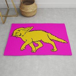 The Sly Fennec Fox Rug