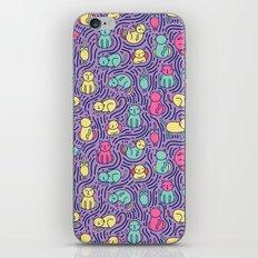 Bright cats iPhone & iPod Skin