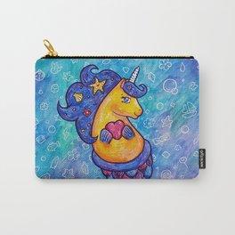Cute Mermicorn Ocean Doodle Carry-All Pouch