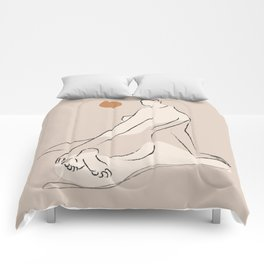 Nude 2 Comforters