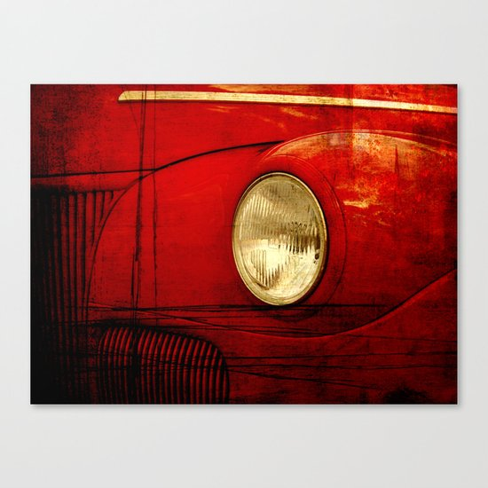 Heart Of Steel Canvas Print