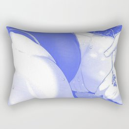 Sexy anime aesthetic - Thigh Trap Rectangular Pillow