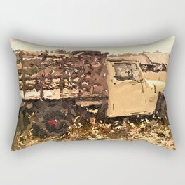 Truck Love Rectangular Pillow
