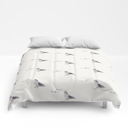 Zut Alors // French Birds Comforters