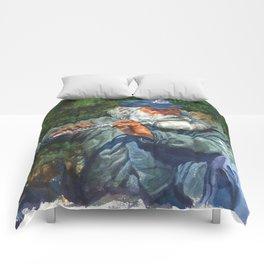 Flutist 2 Comforters