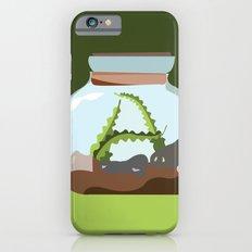 Terrarium Letter A iPhone 6s Slim Case