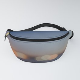 Circles of Light Fanny Pack