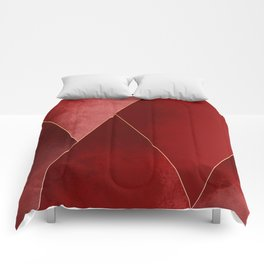 Crimson Tones Comforters